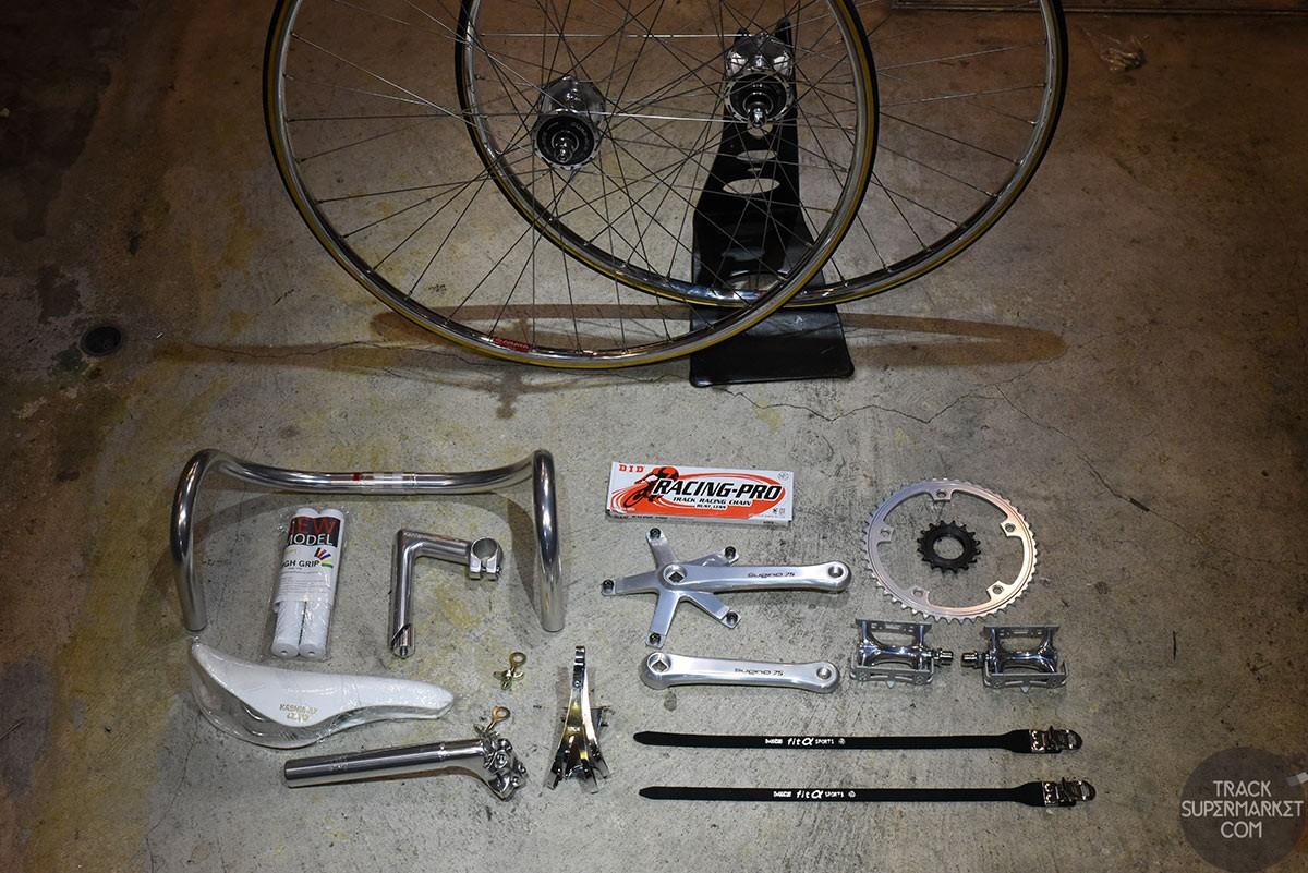 Track Bike Complete Component Set - NJS Build Package