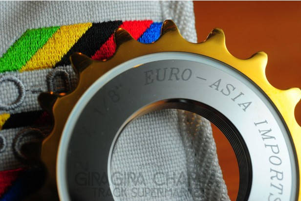 Euro Asia Imports - Gold Medal Pro - Track Cog 12T - 18T