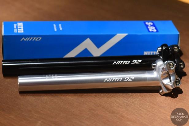 Nitto Tokyo S-92 Zero Offset Seat Post - 27.2mm