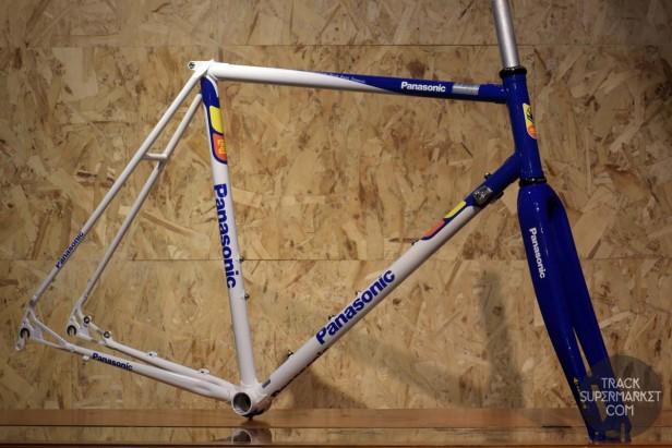 Panasonic Cromoly Custom Cyclocross frame order