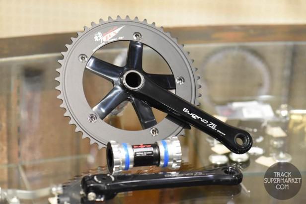 Sugino 75 DD 2 Track Racing Crank Set - Direct Drive - Black