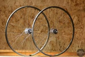 Araya Aero 1 Track Bike Complete Wheel Set - Pair Front/Rear