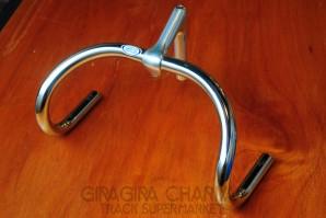 Nitto B123 Track Drop Handlebar - Steel (NJS)