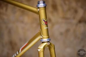 M-Idea - Metallic Gold - 55.5 cm - Funny Track Frame