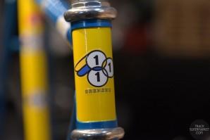 3Rensho - Takizawa Blue / Yellow- 49.5 cm - NJS Track Frame