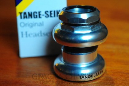 Tange Passage DX Track Bike Headset - Silver