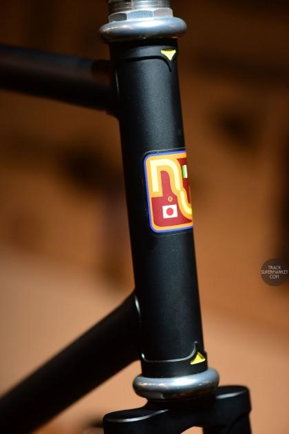Nagasawa - Flat Black - 55.5 cm - Track Frame