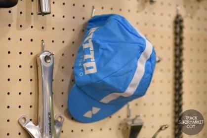 Nitto Cycling Cap - Blue