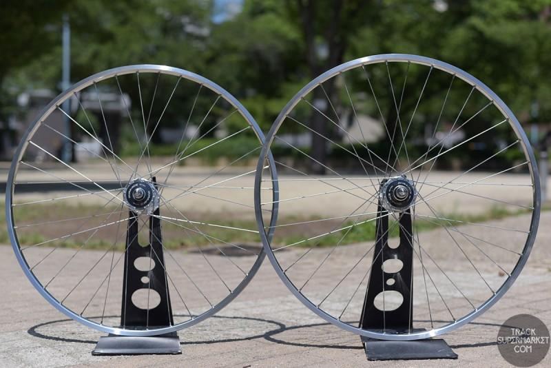 H Plus Son TB14 x HB7600 Track Bike Complete Wheel Set - Pair (Front/Rear)