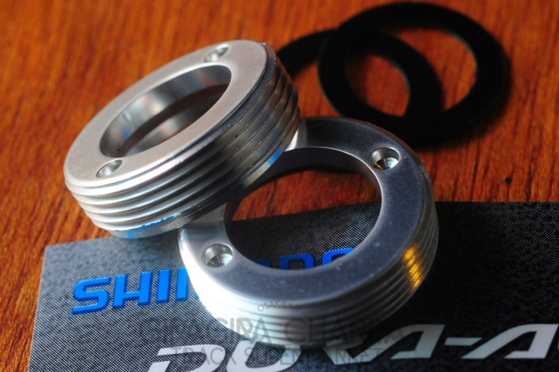 Shimano Dura Ace 7710 crank dust cap set
