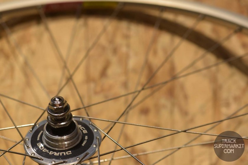 Keirin Track Racing Double Butted Aero Hoshi NJS 305mm Spokes