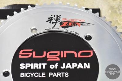 Sugino ZEN Track Racing Chainring Silver (59T-66T)