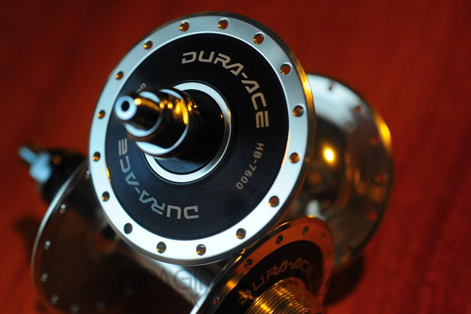 Shimano Dura Ace Hb 7600 Track Hubs 28h Hubs Wheels