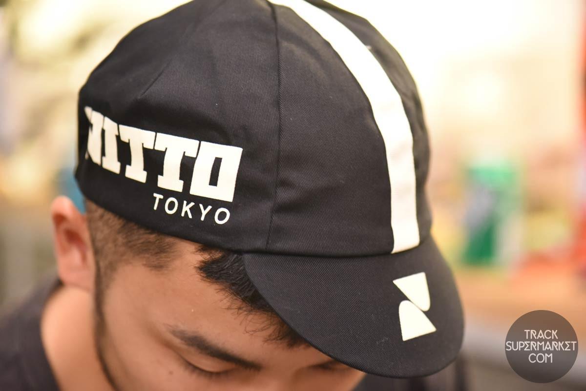Pace Sportswear Nitto Tokyo Light Blue Cycling Cap