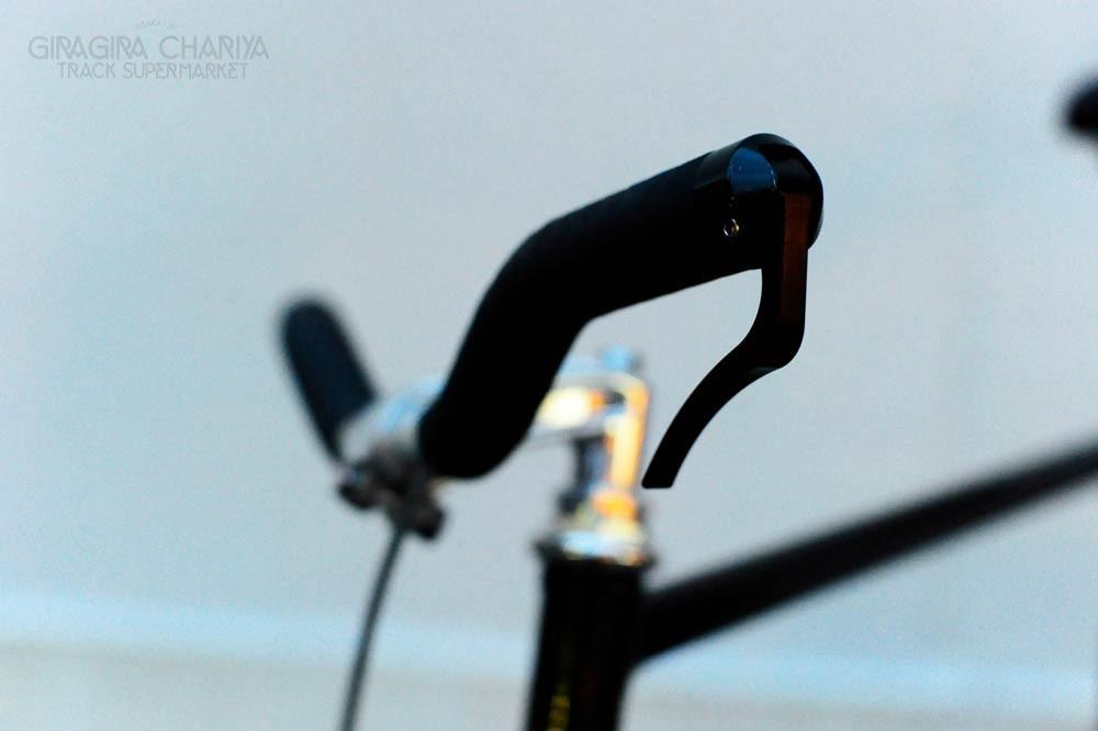 25.4mm Nitto B260AA Riser Handle Bar Silver Black